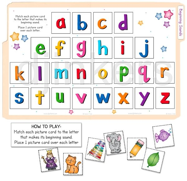 Best Beginning Sounds Games Images On   Initial