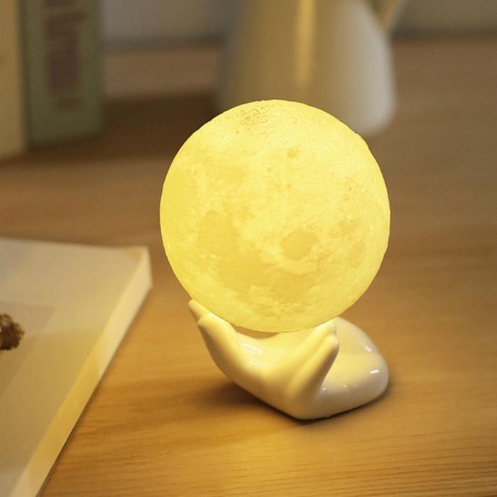 Rechargeable 3d Moon Lamp Remote Control Unique Pick In 2020 Moon Light Lamp Led Night Light Night Light