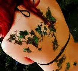 tattoo idea... The Celtic meaning of the ivy deals with connections and friendships because of its propensity to interweave in growth. Ever furrowing and intertwining, the ivy is an example of the twists and turns our friendships take - but also a testimony to the long-lasting connections and bonds we form with our friends that last over the years.