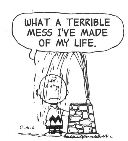 Charming Charlie -- Peanuts cartoon meets The Smiths lyrics