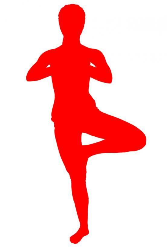 Dit is een evenwichtsoefening die uiterste concentratie vergt. Met deze oefening worden je benen goed gestimuleerd.
