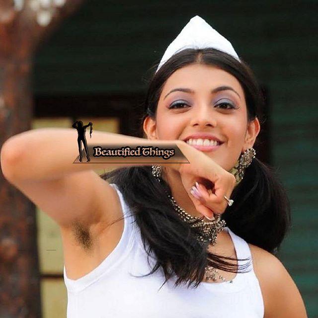 #kajal #kajalagarwal #underarms #armpits #hairyarmpits