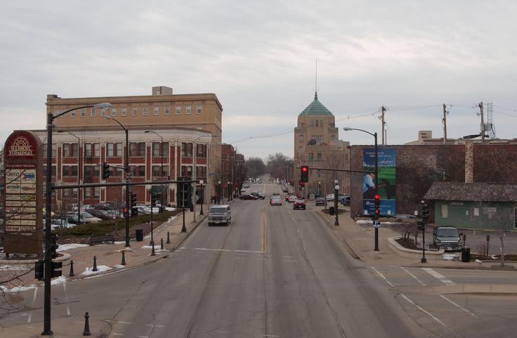 City of Champaign in Illinois