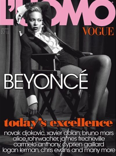 23 best covers images on pinterest magazine covers vogue covers beyonc for luomo vogue fandeluxe Gallery
