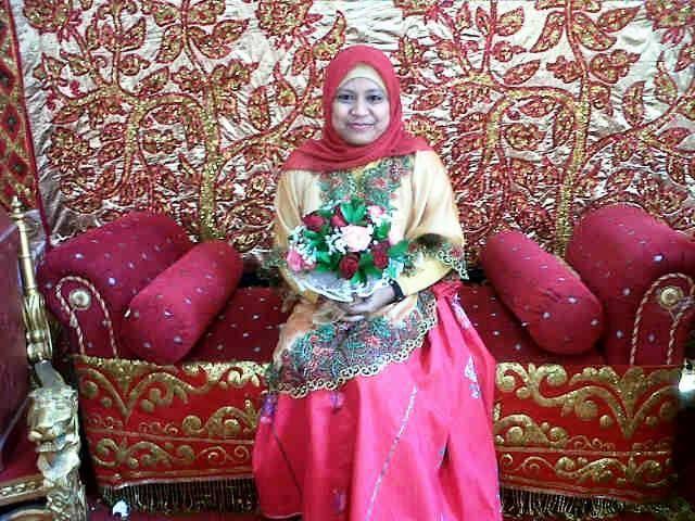 just me, at rina wedding