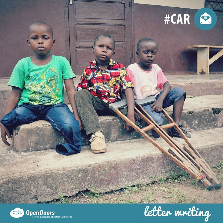 #Write to encourage Jeovani, Steven and Dieu as they adjust to #life with #prosthetic legs in the Central African Republic (#CAR)