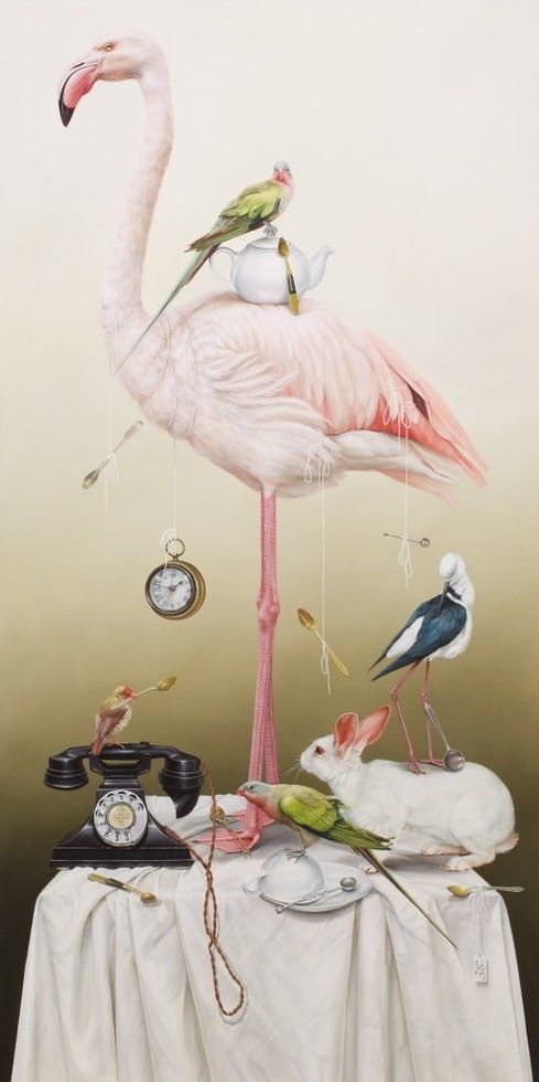 Croquet, tea parties and other stories from Wonderland by Kate Bergin, http://www.artgallery.nsw.gov.au/prizes/sulman/2013/29439/