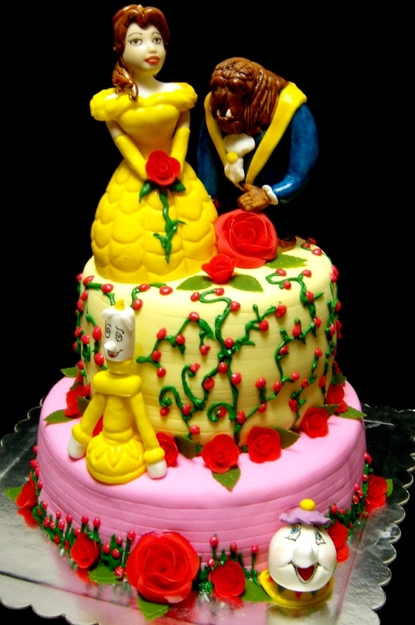 17 Best Images About Beauty Amp The Beast Cakes On Pinterest