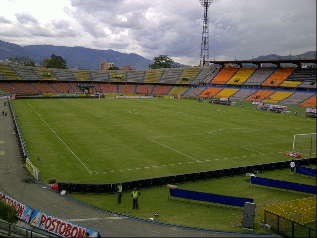 El fortin del deportivo independiente medellin y el Atletico Nacional