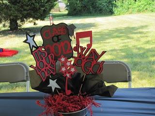 Minced Paper: Graduation Decorations