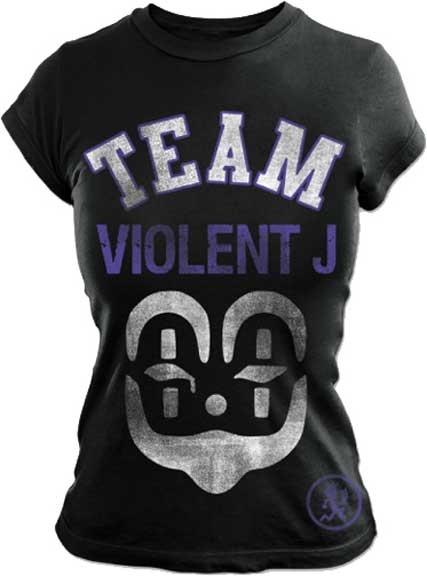 Official Insane Clown PosseTeam ViolentGirls T-Shirt