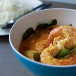 Thai Prawn and Pineapple Curry – Gaeng Kua Sapparod Koong – แกงคั่วสับปะกุ้ง