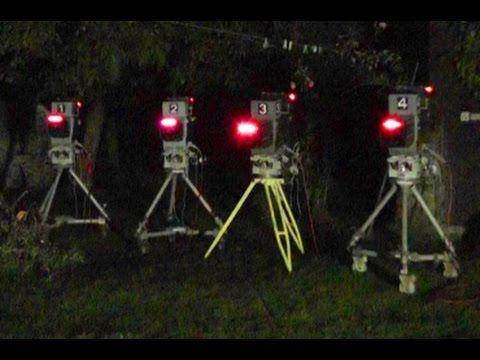 Televizní kamery TKP-306 v noci
