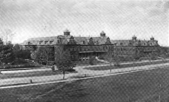 Kings Park Psychiatric Center, Kings Park, NY - The Kings Park Lunatic Asylum was established in 1885 as an extension of the Brooklyn County Hospital complex located on Clarkson Ave.