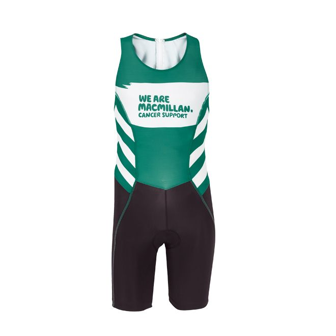 Macmillan triathlon suit | Team Macmillan | Macmillan Cancer Support