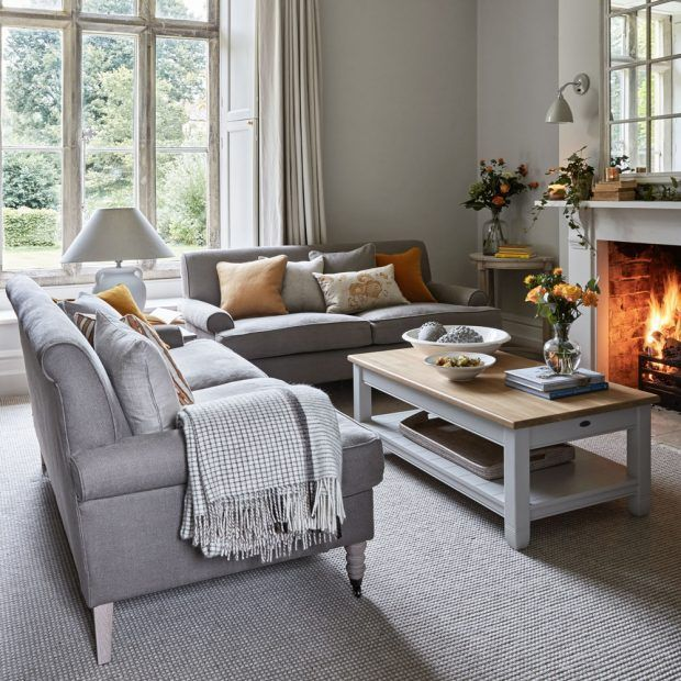 Family room - Take a tour of this sophisticated retreat in the Cotswolds