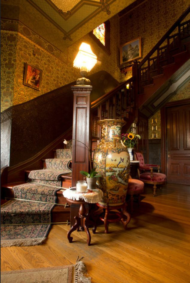 Victorian Foyer Wallpaper : Best images about historic houses th century
