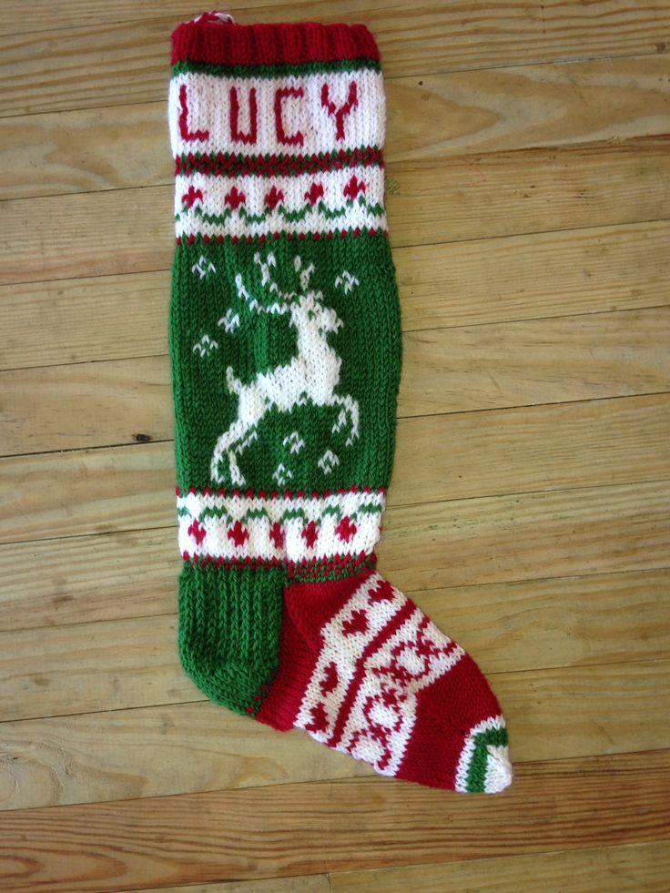 Christmas Stocking Knitting Kits : Best images about christmas stocking on pinterest