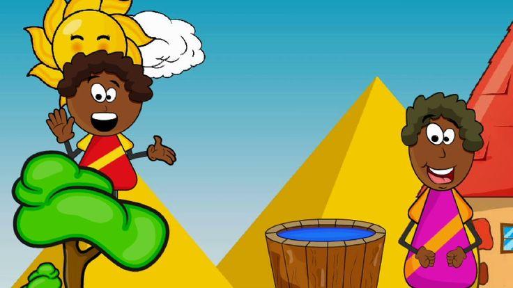 Murzynek Bambo Julian Tuwim - animowany wierszyk dla dzieci