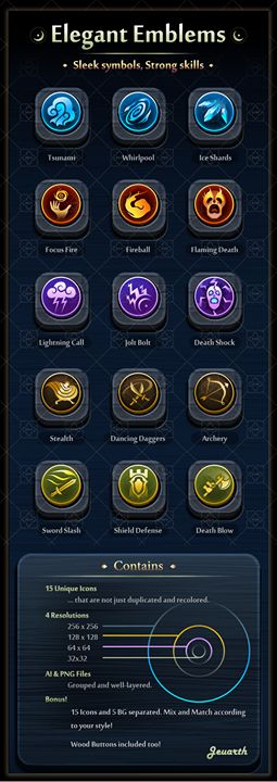 Elegant Emblems has just been added to GameDev Market! Check it out: http://ift.tt/1qcp2gN #gamedev #indiedev