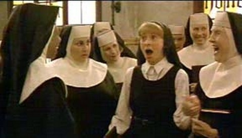 Sister Act- Thelma turn your hearing aide UP!!