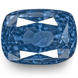 4.07-Carat Rare Unheated Royal Blue Kashmir Sapphire (GIA)