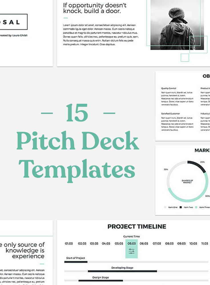 15 Pitch Deck Templates For Startups That Mean Business In 2020 Pitch Deck Startups Templates Start Up