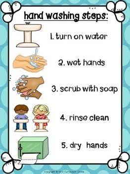 HYGIENE AND HEALTHY HABITS: HAND WASHING & BRUSHING TEETH {DENTAL HEALTH}! - TeachersPayTeachers.com