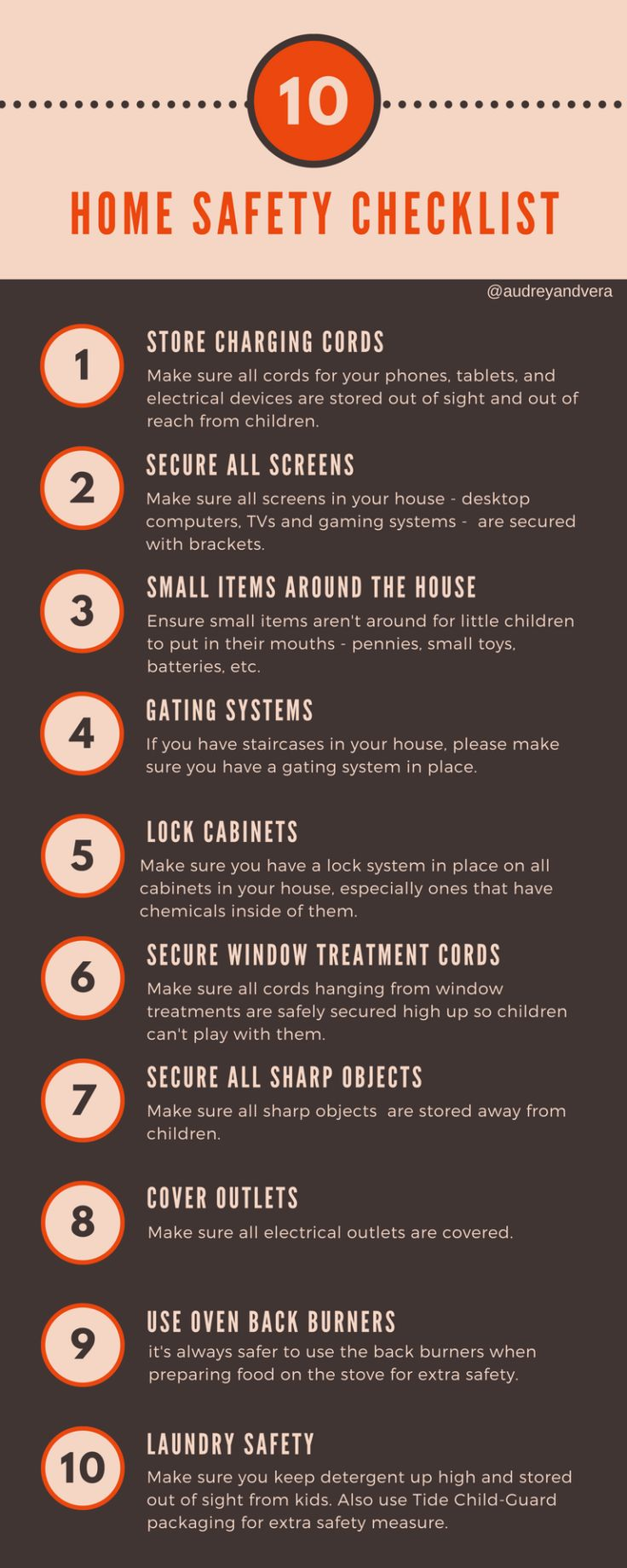 Important home safety checklist for parents and babysitters. Use this checklist to keep your home safe. MomGenerations.com #safety #homesafety #kidssafety #parenting #safe #home (sp)