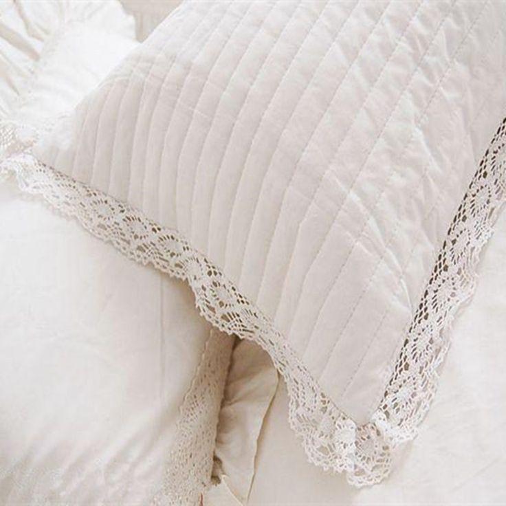 2pcs Вышитая наволочка одеяло Европейский стиль принцессы постельные…