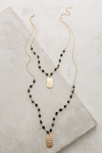 Ashen Light Layered Necklace #anthroregistry