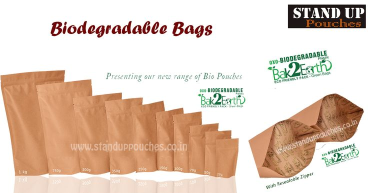 """Our brand for biodegradable bags is """"Bak2earth"""". Our #biobags is made from #biodegradableplastic which is 100% environmental friendly."""