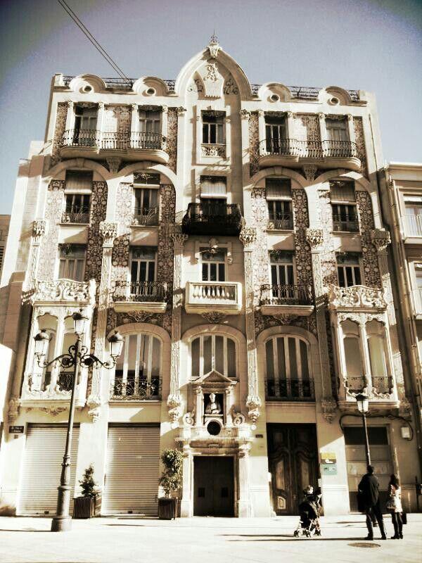 Admire old architecture..
