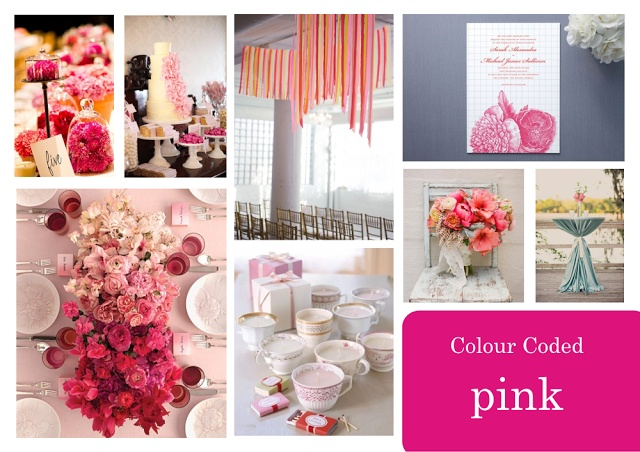 Pink Vision Board