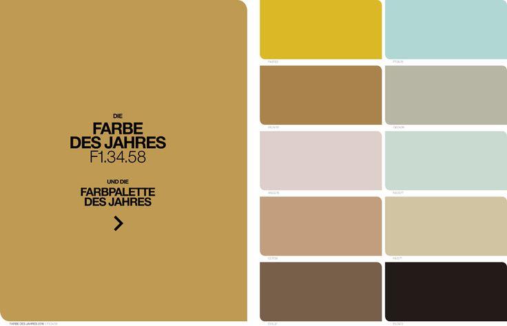 Farbe des Jahres 2016 + Farbpalette