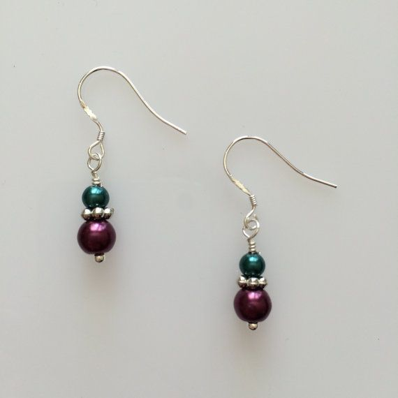 Earrings  Dangle and Drop  made with love xx by CharmingDeva