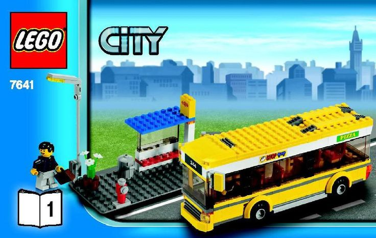 City - City Corner [Lego 7641] instructions
