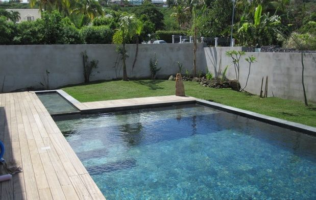 Piscine Miroir Carrelage - Pool RéunionPiscines et Spas