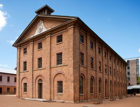 Sydney's Hyde Park Barracks designed by Francis Greenway. Commissioner John Thomas Bigge, usually so jaundiced when it came to Governor Macquarie's building projects, called the barracks 'simple and handsome'.