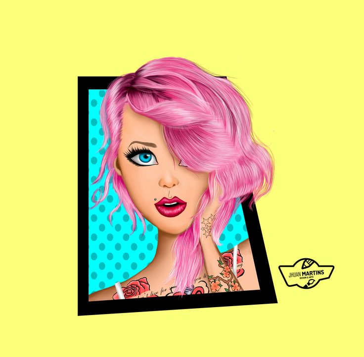 Girl pink style