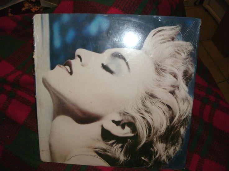Madonna - True Blue - Vintage Record Original 1986 Release SEALED Sire records