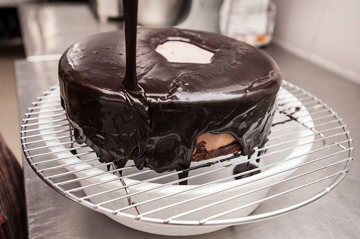 Cukrárna Moje cukrářství - čokoládový dort. © Foto Dana Kolářová