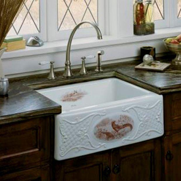 12 best Antique Kitchen Sinks images on Pinterest   Cottage kitchens ...