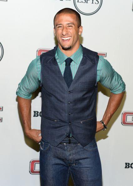 "colin kaepernick espn body issue | ... Colin Kaepernick attends ESPN the Magazine 5th annual ""Body Issue"