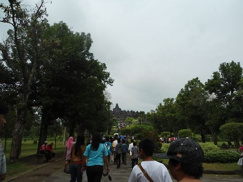 Borobudur temple...