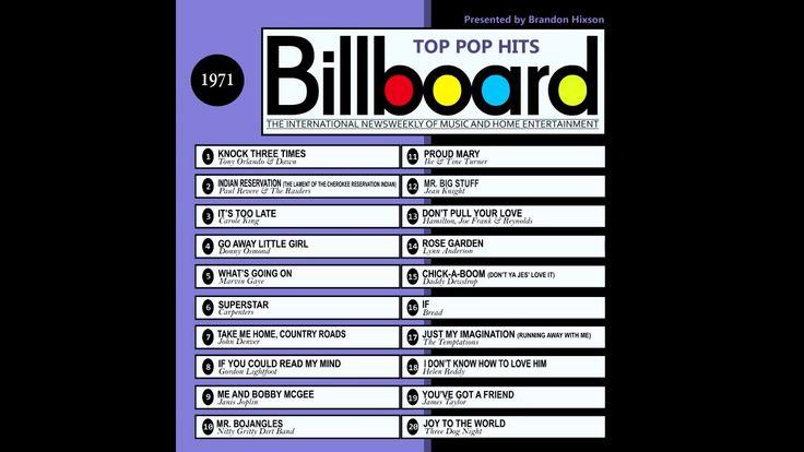 Billboard Top Pop Hits   1971