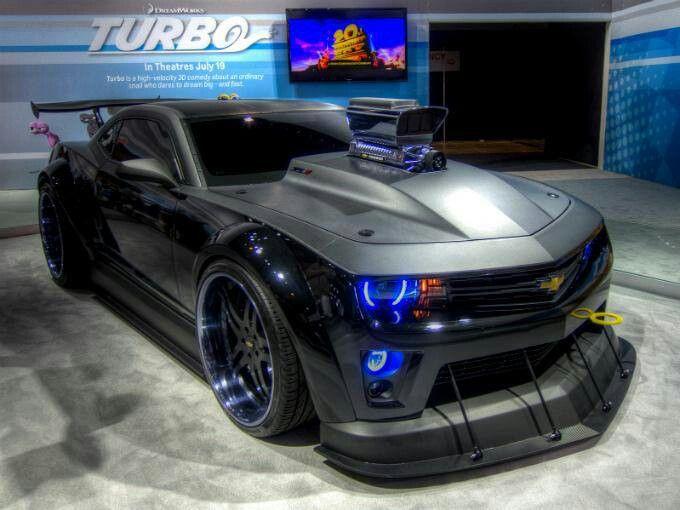 """Camaro ZL1 con 700 caballos, aparecerá en la pelicula de """"Turbo"""" #Chevrolet"""