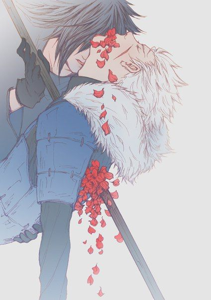 Madara/Tobirama << seen this and thought it was hash and shin-ah from akayona