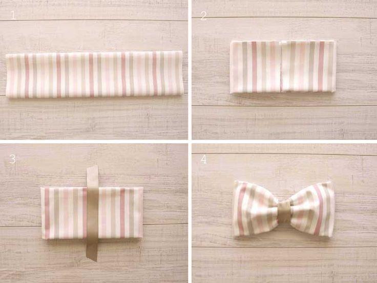 cómo doblar servilletas