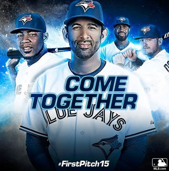 The time is now! #OpeningDay @torontobluejays